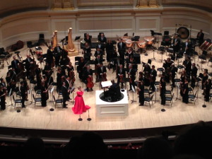 Joyce DiDonato and James Levine with the Met Symphony Orchestra