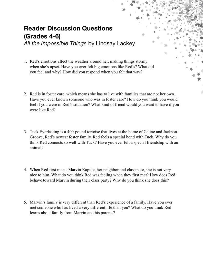 Discussion Guide pg 1